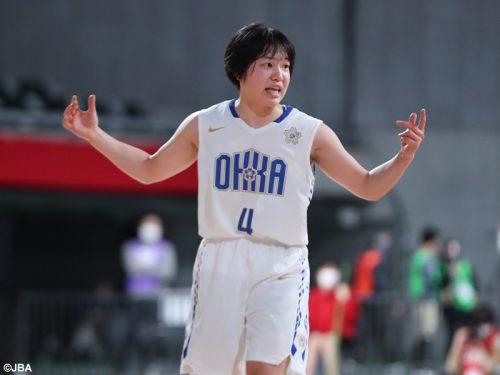 高校バスケの集大成に向けて…決勝進出の桜花学園・江村優有「最後まで全力で戦って、すべて出しきる」