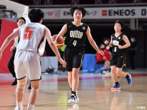 桜花学園が116点差勝利でスタート、岐阜女子や東京成徳も好発進/ウインターカップ女子1回戦