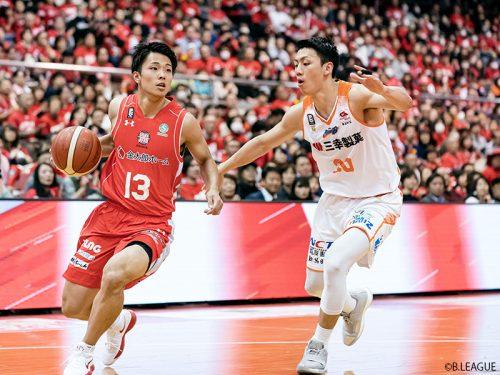 インカレMVP大倉颯太が今シーズンも練習生として千葉ジェッツに参加