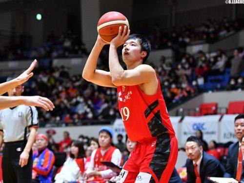 新潟アルビレックスBBが東海大の西田優大と契約合意…昨季は名古屋Dで特別指定選手としてプレー