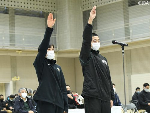 ウインターカップ2020の開会式を開催。明日、23日より冬の日本一を決める戦いが始まる