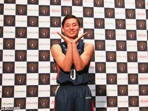 河村勇輝が2度目のBリーグ挑戦。東海大で成長を感じ、B1横浜での意気込みを語る