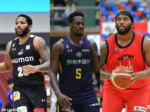 LJ・ピーク、ジョシュア・スミス、ディージェイ・ニュービルがノミネート…Bリーグ1月度月間MVPは誰の手に?