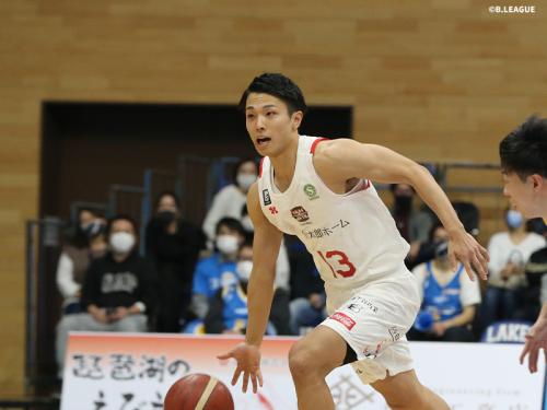 千葉ジェッツが滋賀レイクスターズに敵地で連勝、今季2戦目の大倉颯太がチーム最多の5アシストを記録