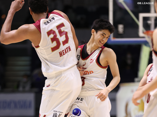 日本大学へ進学予定の米須玲音、天皇杯ファイナルラウンド終了時までチームに帯同