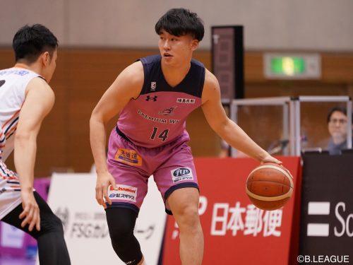 福島ファイヤーボンズの半澤凌太、3月7日で特別指定選手としての活動を終了