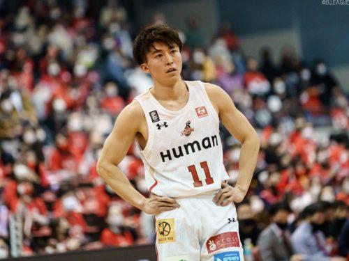 大阪エヴェッサ、特別指定で加入した高原晟也の退団を発表…大学チームが活動再開のため