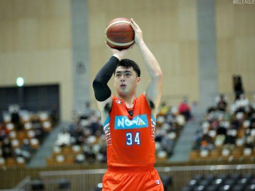 広島ドラゴンフライズの佐土原遼、2月28日で特別指定選手としての活動を終了