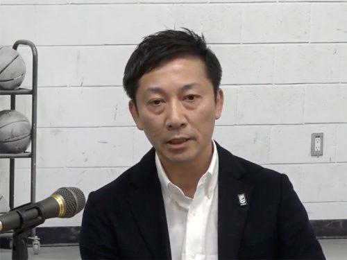 Bリーグの島田チェアマンが「FIBAアジアカップ予選」について説明…「苦渋の決断の末派遣を決定した」