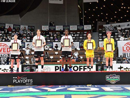 第22回Wリーグのアワード表彰者が発表…シーズンMVPは岡本彩也花が初受賞