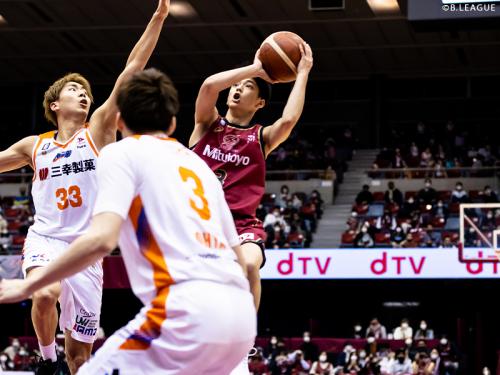 川崎ブレイブサンダースが新潟アルビレックスBBに100点ゲームの完勝、米須玲音もホームデビューを飾る