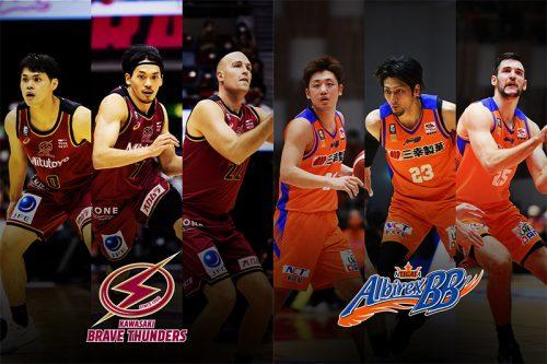 今季最後の顔合わせとなる両軍、川崎ブレイブサンダースは日本人選手の働きが重要