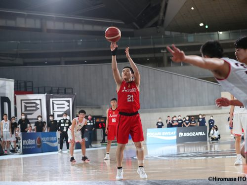 MVPを獲得した名古屋ダイヤモンドドルフィンズU15の永里叶多「自信を持ってプレーすることができて良かった」