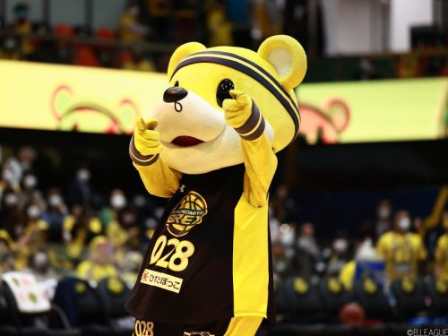 「B.LEAGUE MASCOT OF THE YEAR 2020-21」、宇都宮ブレックスのブレッキーが初優勝!