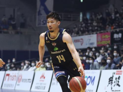 琉球がホームで広島を連破、日本人選手が攻守に活躍