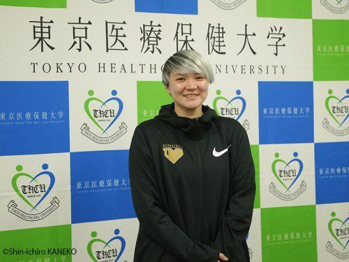 元日本代表の吉田亜沙美が東京医療保健大学のアシスタントコーチに就任