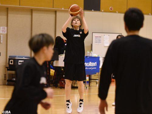 女子日本代表を引っ張る髙田真希「練習の中でリーダーシップを発揮していかないといけない」