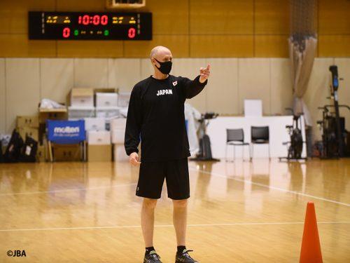 「目標は金メダル」女子日本代表のトム・ホーバスHCが改めて誓言