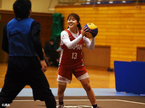 「大会を迎えるのが楽しみです」…五輪予選に意気込む3x3女子日本代表の山本麻衣