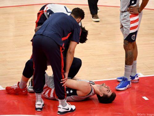 ウィザーズのルーキー、デニ・アブディヤが右足首の負傷で今季終了か