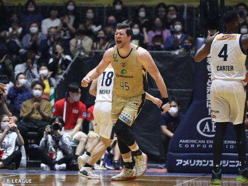 琉球の4シーズン連続地区優勝が決定…試合中止により2位三河の優勝の可能性が消滅
