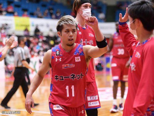熊本がB2アシスト王・石川海斗とファイサンバを自由交渉選手リストに公示