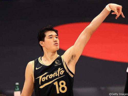 渡邊雄太が『ESPN』の名物記者による今季NBAで戦い抜いたセレクトチームに選出