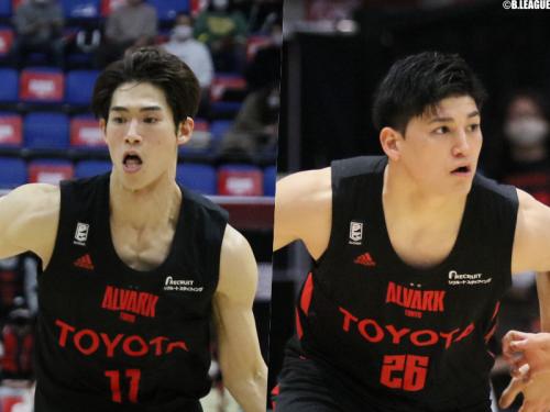 アルバルク東京、須田侑太郎と津山尚大との契約満了を発表