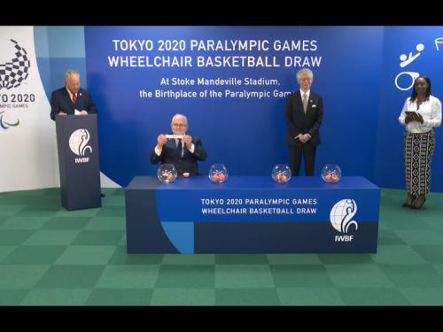 車いすバスケ、東京パラリンピックの予選グループの組合せが決定!