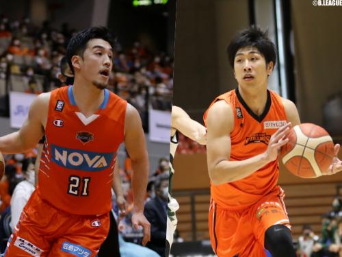 広島ドラゴンフライズ、田渡凌と小澤智将を自由交渉選手リストへ公示