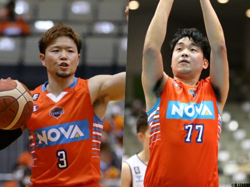 広島ドラゴンフライズ、岡本飛竜と森山修斗を自由交渉選手リストへ公示