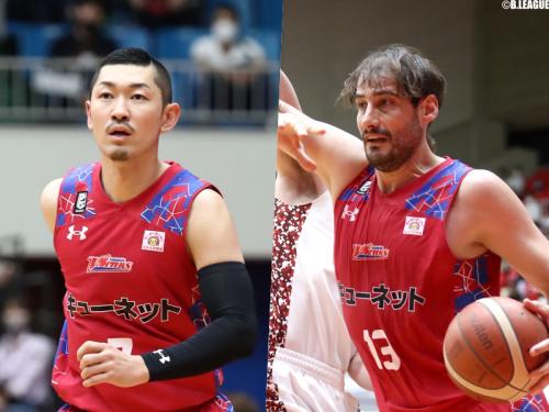 熊本が小林慎太郎とデイビッド・ドブラスを自由交渉選手リストへ公示
