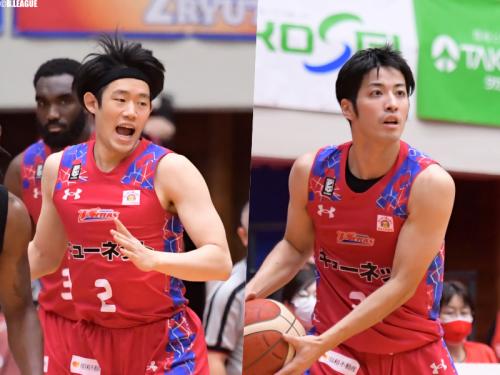 熊本が野口龍太郎と西谷亮一を自由交渉選手リストへ公示
