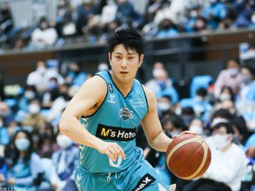 広島ドラゴンフライズが寺嶋良の獲得を発表…今季55試合で8.1得点をマーク
