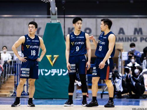 横浜ビーコルセアーズが森川正明、森井健太、須藤昂矢との契約継続を発表