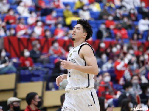 宇都宮が敵地で秋田に勝利し連敗ストップ…比江島が17得点4アシスト