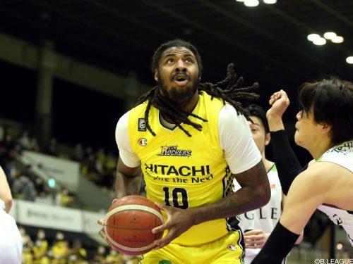 SR渋谷のチャールズ・ジャクソンが広島へ移籍…今季60試合で平均15.6得点をマーク