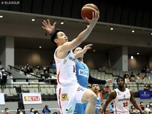 大阪が広島に100点ゲームで快勝…角野がチームハイの21得点をマーク