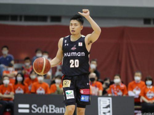 大阪が合田怜との契約継続を発表「来シーズンに対する思いは誰にも負けません」