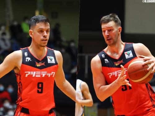 三遠がミリェノヴィッチ、イェロヴァツとの契約満了を発表