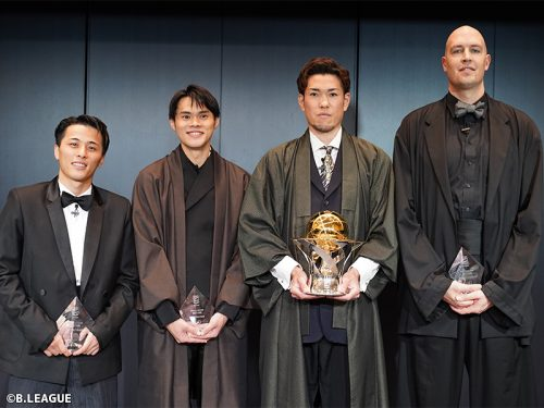 「B.LEAGUE AWARD SHOW 2020-2021」受賞者・受賞チーム一覧