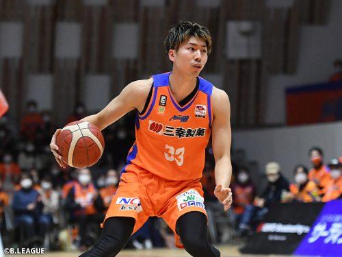 林翔太郎が滋賀レイクスターズに移籍「初めての滋賀県なので…」