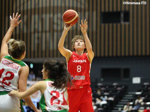 女子日本代表の髙田真希が第1戦を終えて「悪い時に何をしないといけないのかが大切」
