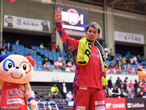 2年連続B2アシスト王・石川海斗が熊本を退団「たくさんの愛情をありがとう」