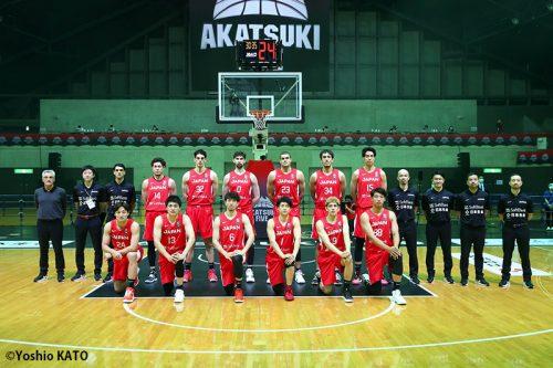 バスケ男子日本代表国際強化試合2021宮城大会ロスター12名発表