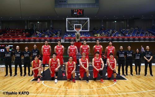バスケ男子日本代表国際強化試合2021岩手大会ロスター12名発表