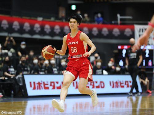 ポルトガルに3連勝した女子日本代表…赤穂が第3戦でダブルダブルを達成