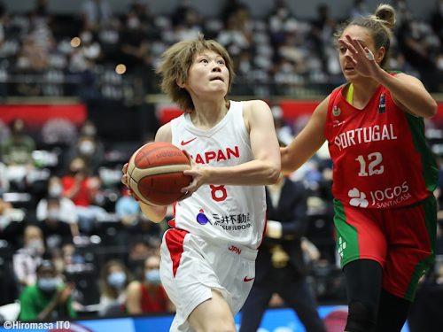 第2戦では前半からリードを獲得した女子日本代表…第1戦につづいて2連勝