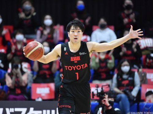 A東京が小島元基との契約継続を発表…今季43試合の出場で平均5.6得点