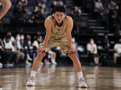 琉球が田代直希との2021-22シーズンの契約継続を発表